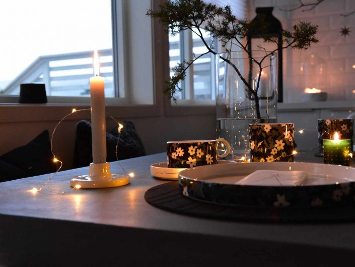 Tablesetting. Styling.