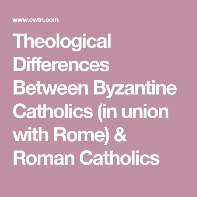 a comparison between roman catholic and mornon religions In every case, however, it is the baptism of the catholic church, which does not   current doubts about the validity of mormon baptism  as a result, almost  imperceptibly there developed difference of practice, insofar as.