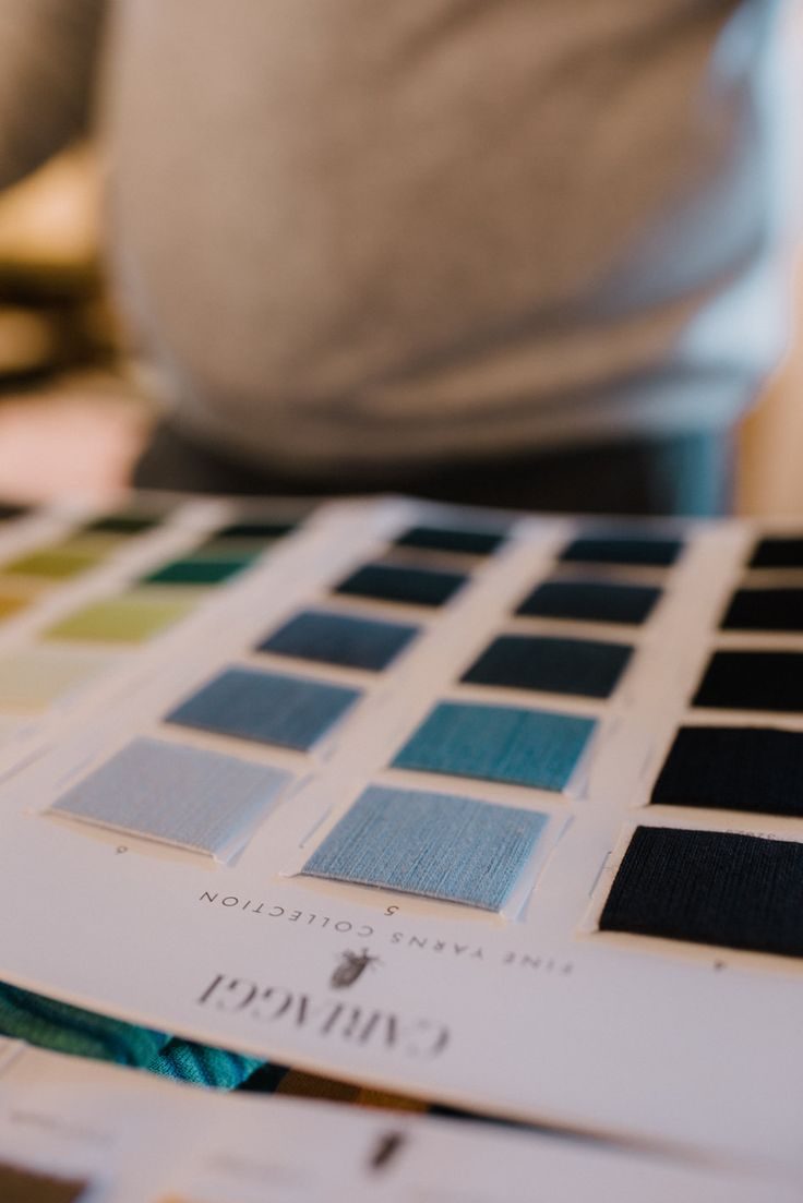 Guado (Woad) is a pigment extracted from the  plant commonly known as Isatis Tinctoria. This  plant creates the only natural dye capable of  achieving a truly splendid Azure-Blue. The likes  of which can be seen on our artisanal cashmere.   Photo @FlyAwayPhoto