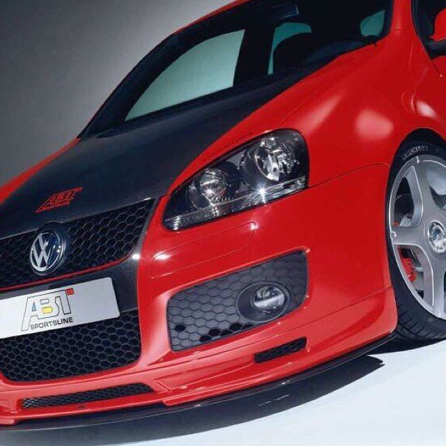 ABT VW Golf GTI 2005 230hp According to the advertisements the new Golf GTI is made for guys who have been tough men all along. #speed #love #future #fire #fast #night #true #live #like #awesome #best #one #furious #road
