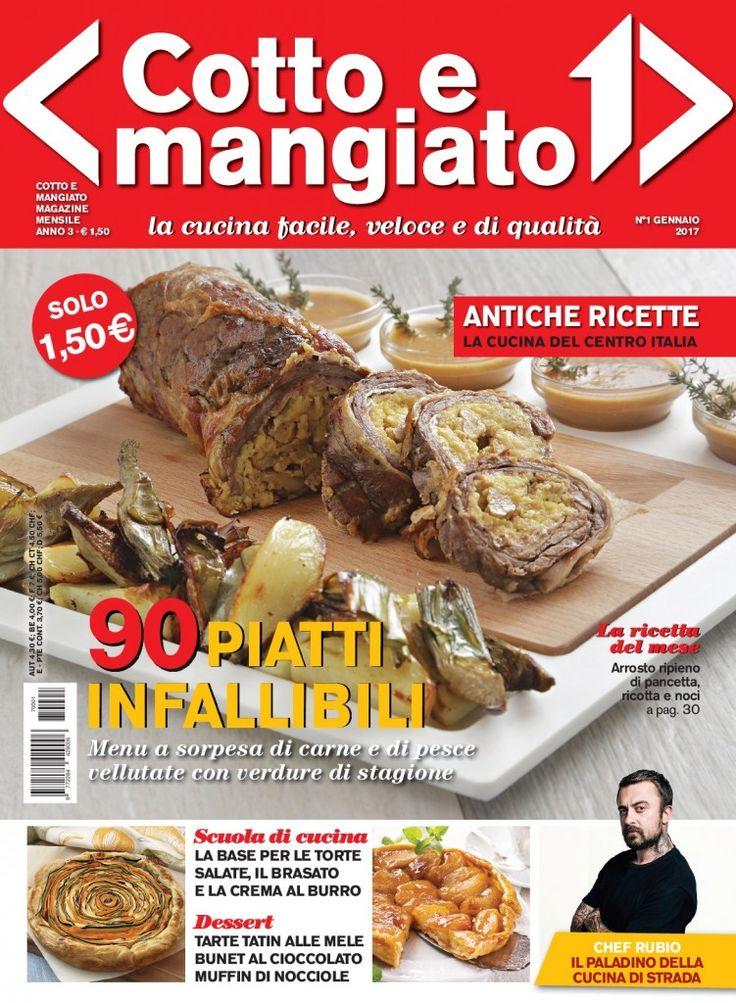 Cotto & Mangiato - Cover gennaio 2017