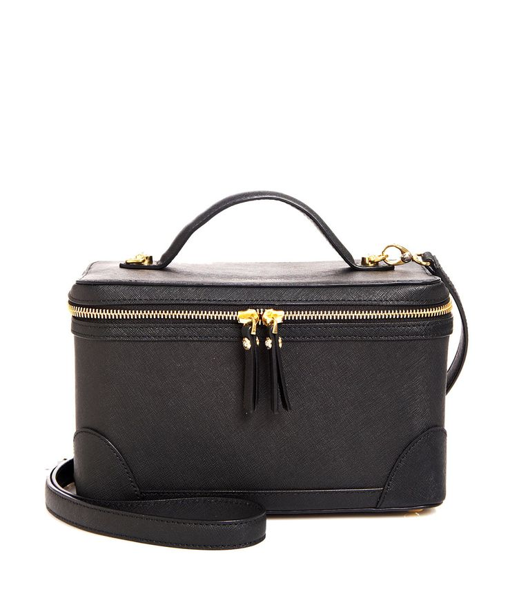 West 57th Train Case | Holiday Catalog | Henri Bendel - love the black so much more
