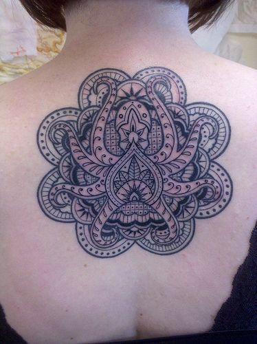 37 Charming Mandala Tattoo Designs