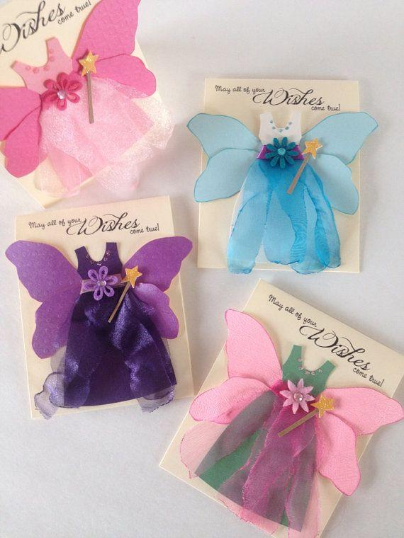 Fairy princess card. Princess Birthday Card by CallMeCraftie, $4.10