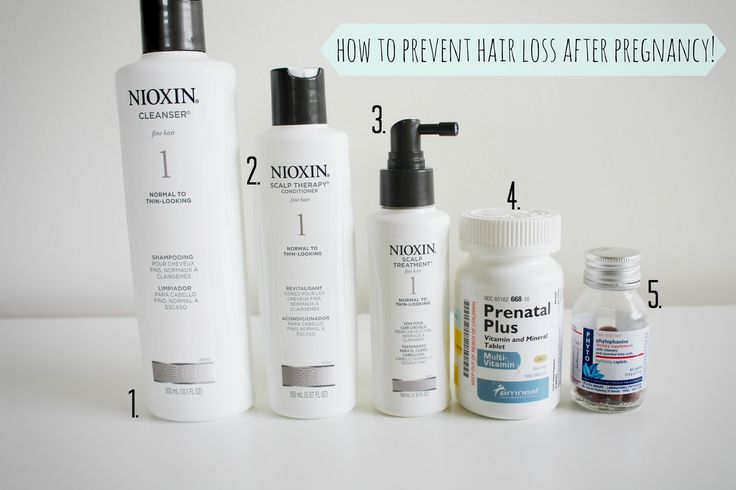 How to Prevent Hair Loss After Pregnancy...