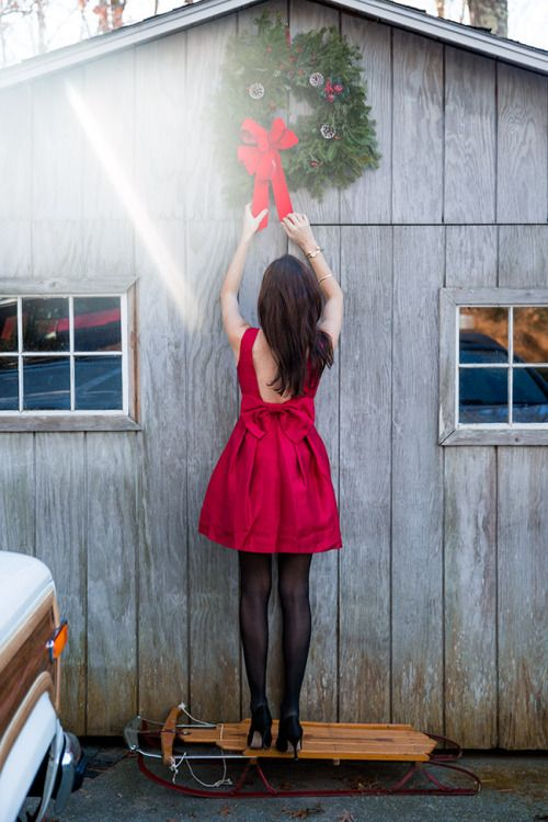 Cute Red Dresses For Christmas