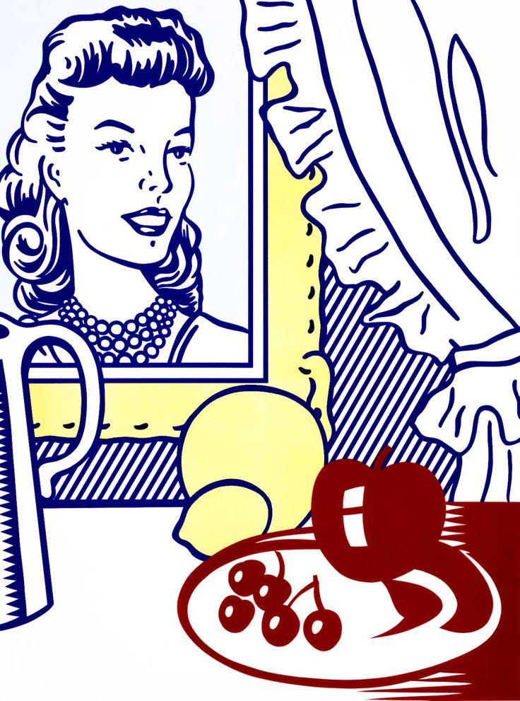 Roy Lichtenstein, 'Still Life with Portrait from 'Six Still Lifes'' 1974