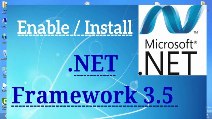 (Offline) How to Install/Fix .NET Framework 3.5 (include 2.0 and 3.0) Er...