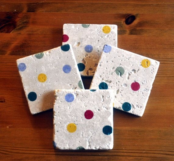 Emma Bridgewater Polka Dot Natural Stone by DevonMadeDesigns