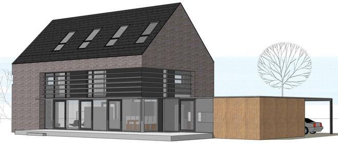 Woning aan het molenpark te vlijmen dingemans architectuur horeca bedrijfsrestaurants den - Zie in het moderne huis ...