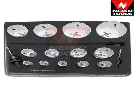 18 pc Bi-Metal Hole Saw Kit