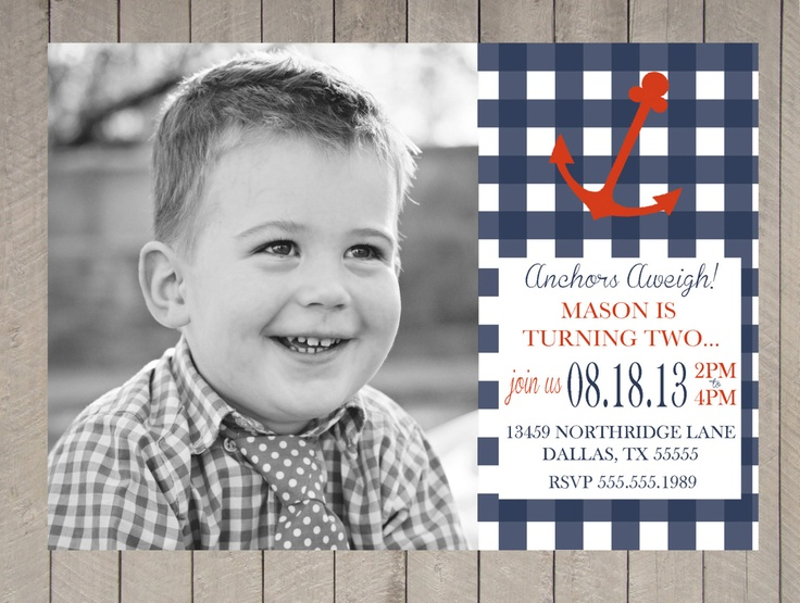 Printable Birthday Invitations For Boy ~ Best first birthday party images birthday party