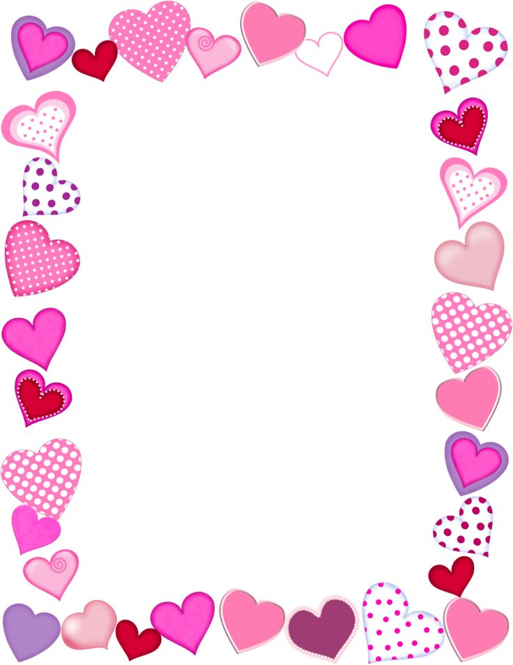 free frames png free whimsical hearts frame valentines day graphic transparent png