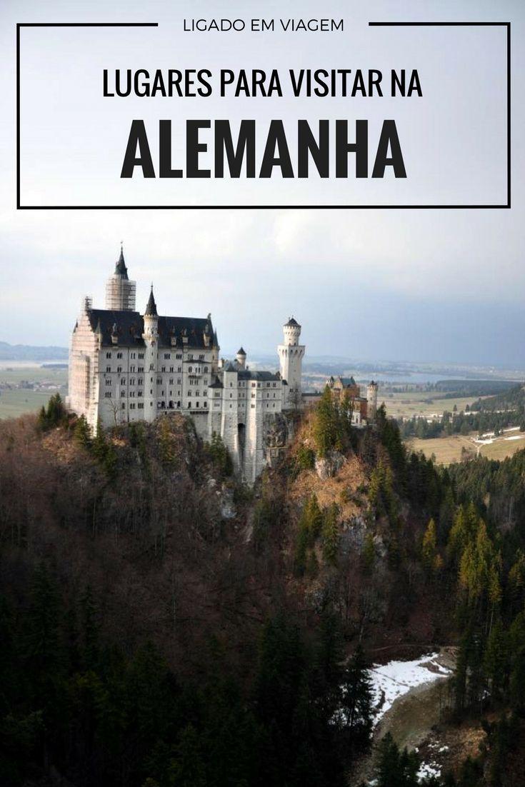 Listamos as cidades, cidades medievais, castelos, museus e compras para fazer e visitar na Alemanha, melhores dicas para incluir numa viagem para a Europa