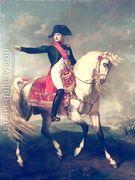 Equestrian Portrait of Napoleon I (1769-1821) 1810  by Joseph Chabord