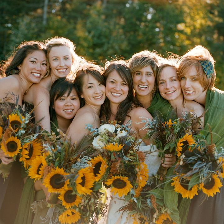 17 Best Images About Sunflower Wedding Inspirations On