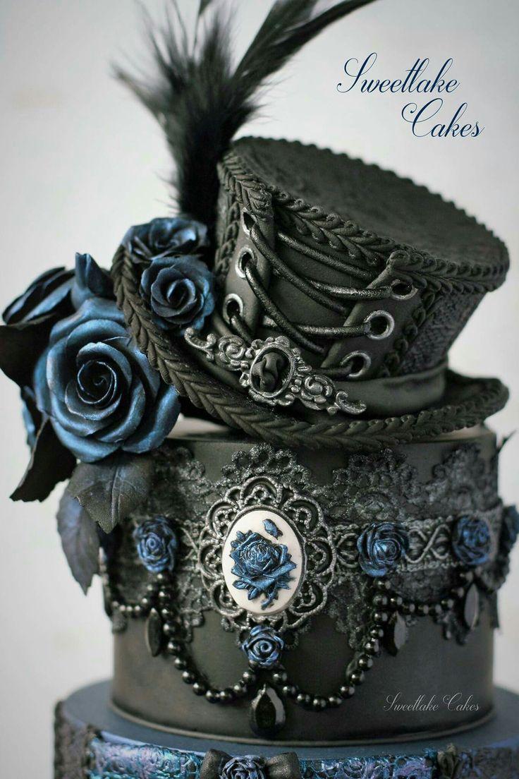 Burlesque Gothic Cake Topper                              …