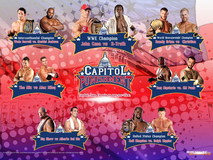 wwe capitol punishment 2011 card