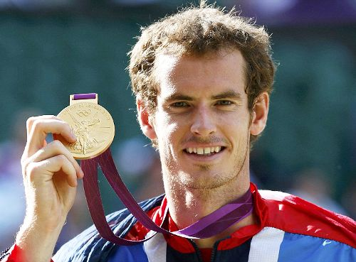 Team GB Medals 2012  44. Andy Murray - GOLD  (Tennis: Men's Singles)
