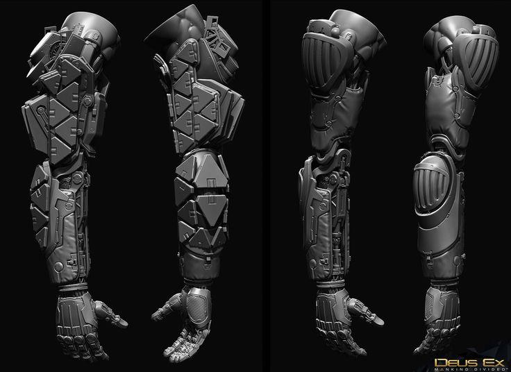 Deus Ex Mankind Divided : Arc Augs, Frederic Daoust on ArtStation at https://www.artstation.com/artwork/y2nDO