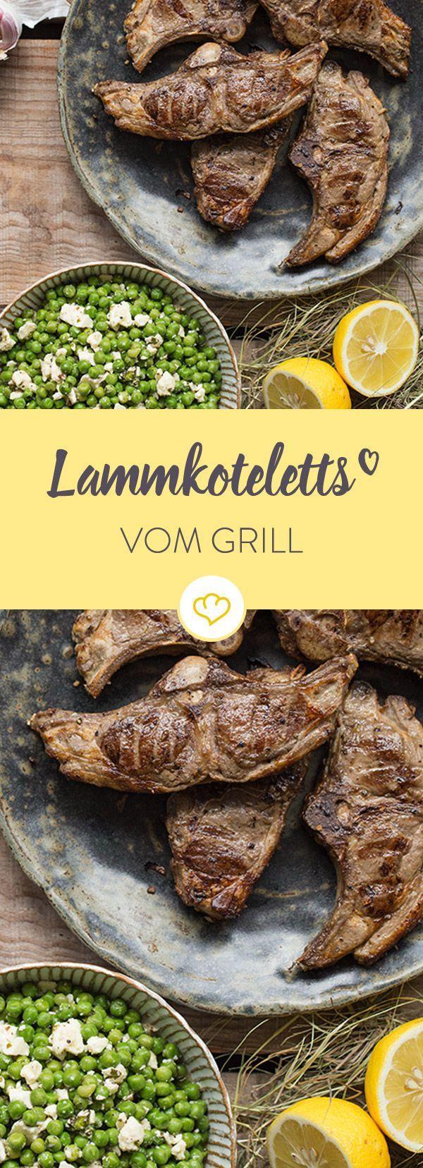 Würziges Lammfleisch mit knackigen Erbsen und einem Hauch von Minze - so lässt das traditionelle Osterlamm in diesem Jahr den Frühling schmecken.
