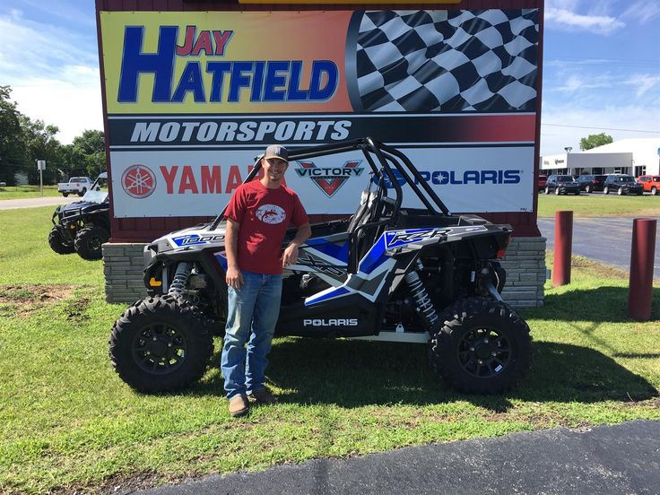 Congratulations and Best Wishes TYLER on the purchase of your 2017 Polaris Razor 1000 XP!  We sincerely appreciate your business, Jay Hatfield Motorsports and Kevin Swope.