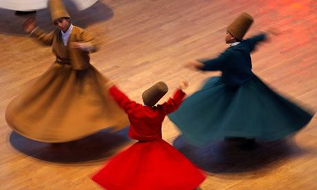 wild whirling dervishes