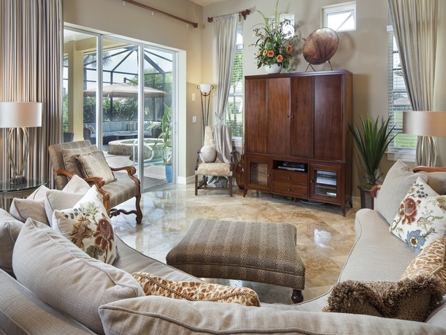 Lovely Sold   Family Room   Horse Creek Estates   Naples, Florida Part 28