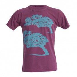 T-shirt Mistral uomo burgundy