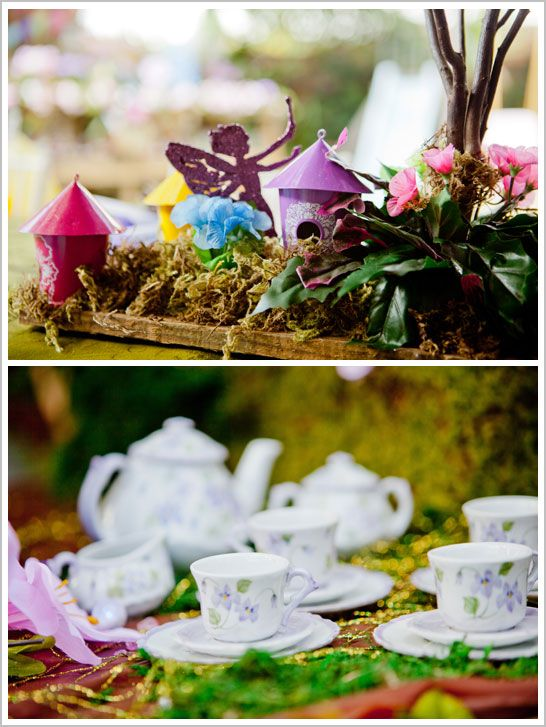 this totally reminds me of your beautiful soiree, @Amanda Skiles! Fairy Birthday Party in Pixie Hollow