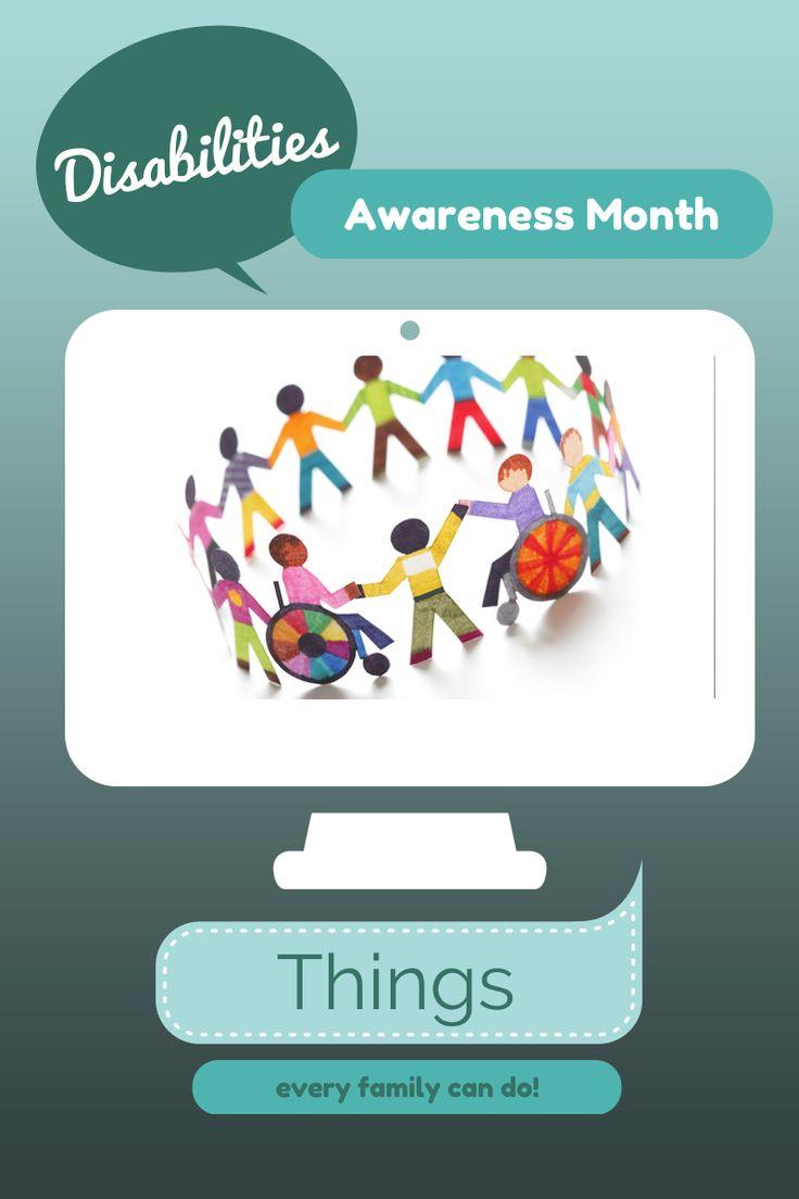 Developmental Disabilities Awareness Month