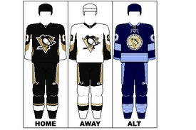just in case you can't get your Pens uniforms figured out