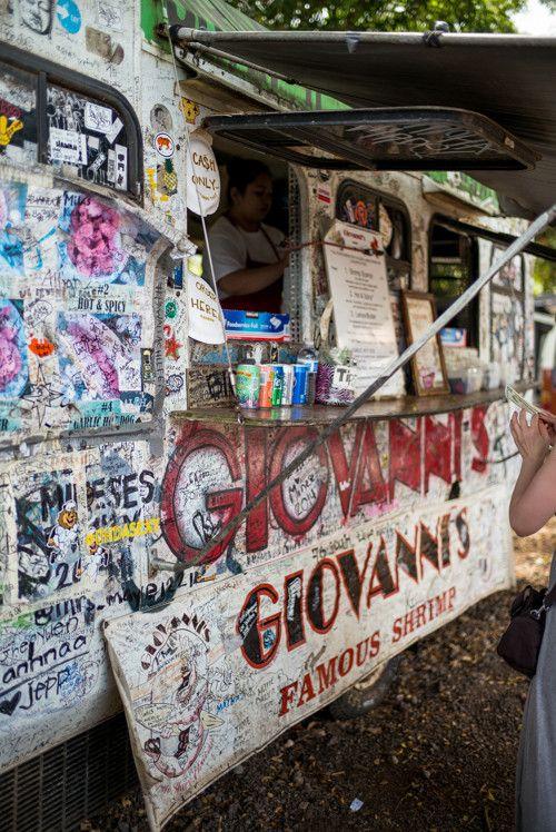 Giovannis Shrimp Truck, North Shore, Hawaii - Gal Meets Glam