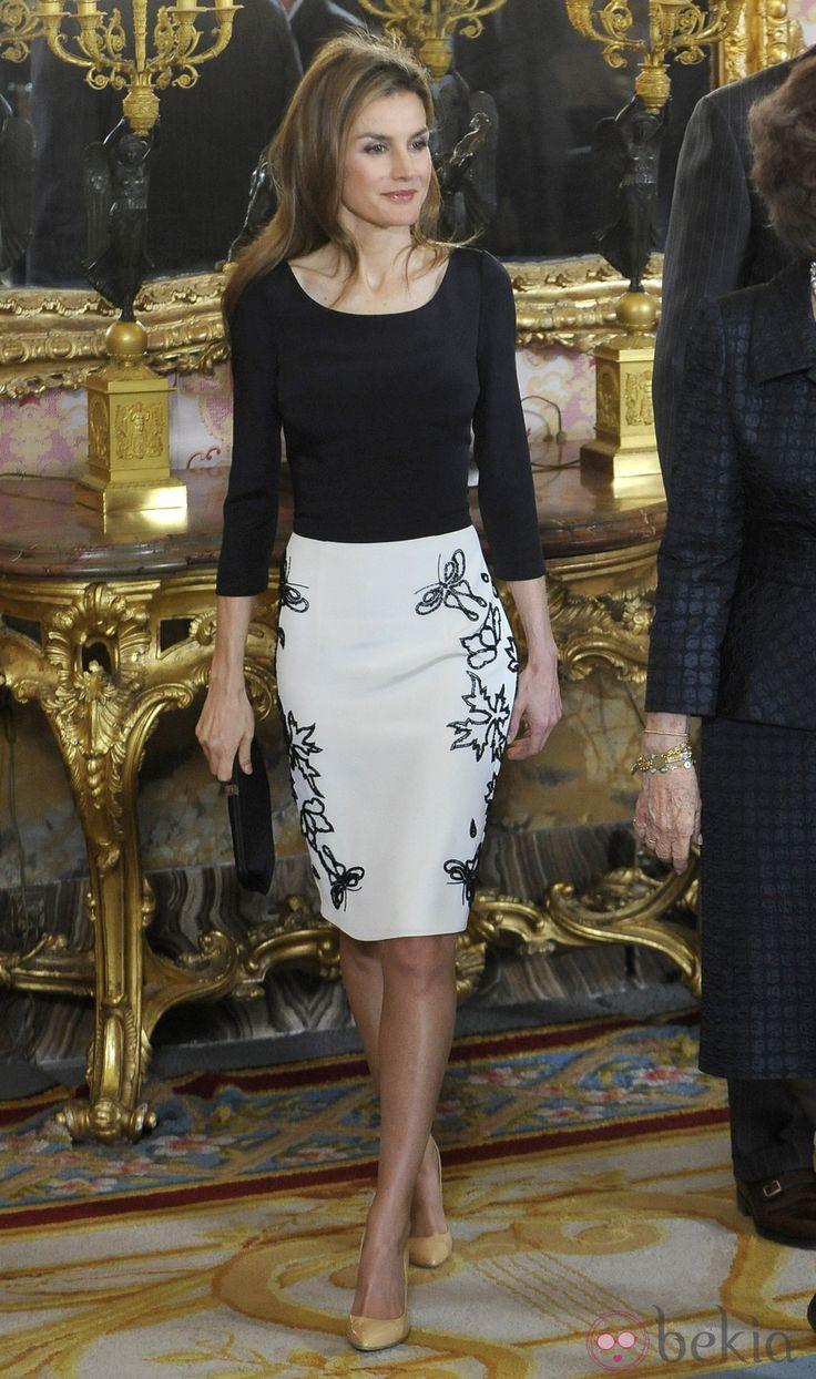 La Princesa Letizia en el almuerzo en honor a la ganadora del Premio Cervantes 2014