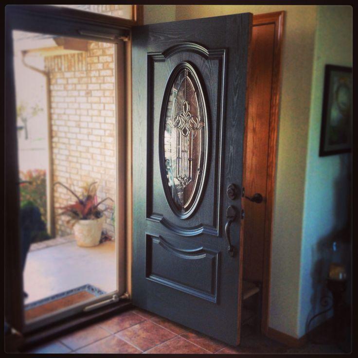 12 best images about front door on pinterest valspar for Slate blue front door