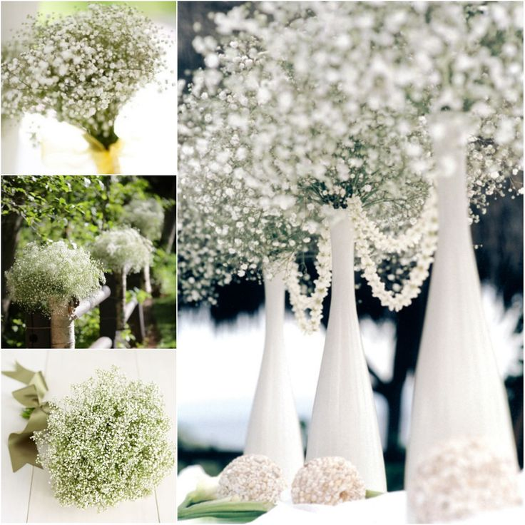 Beautiful easy and cheap wedding flower centerpiece