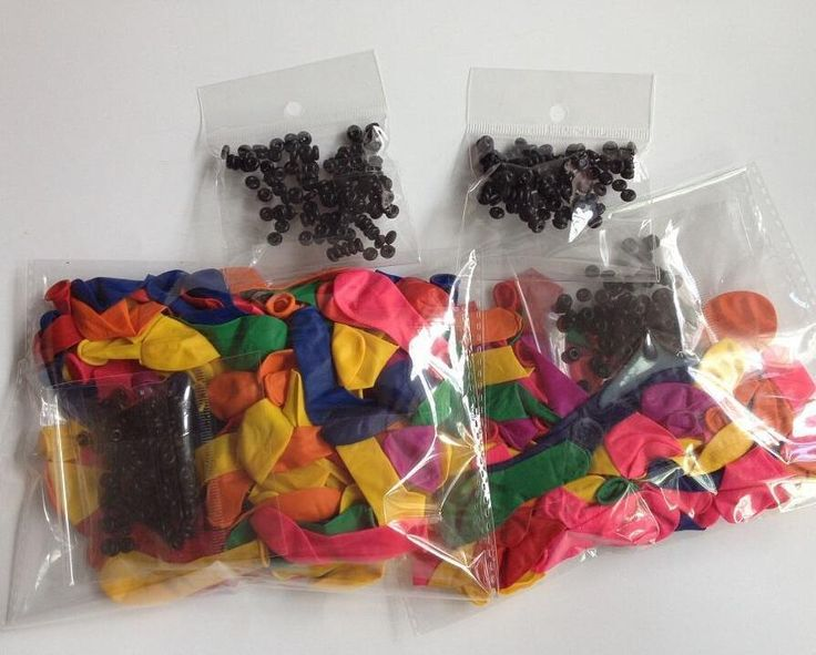10bags/lot Water Balloons Refill Pack 120 Water Balloons+120 Rubber Bands/bag #Unbranded