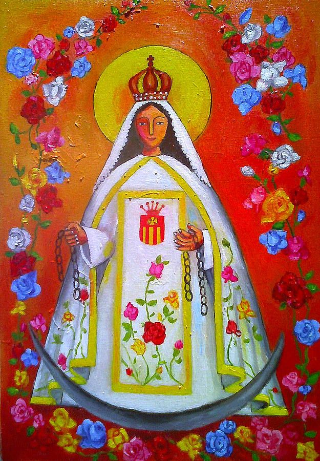 Virgen De Las Mercedes Painting