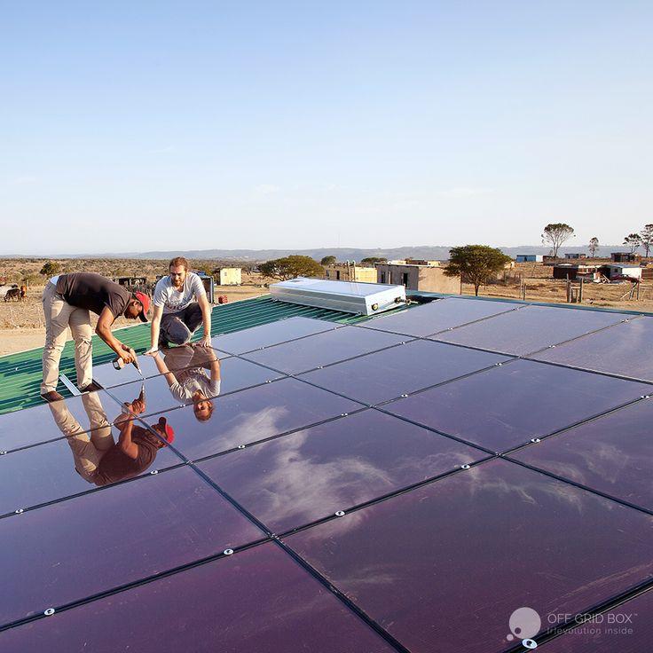 Off Grid Box in South Africa -  La Fabbrica del Sole + Oxfam Italia