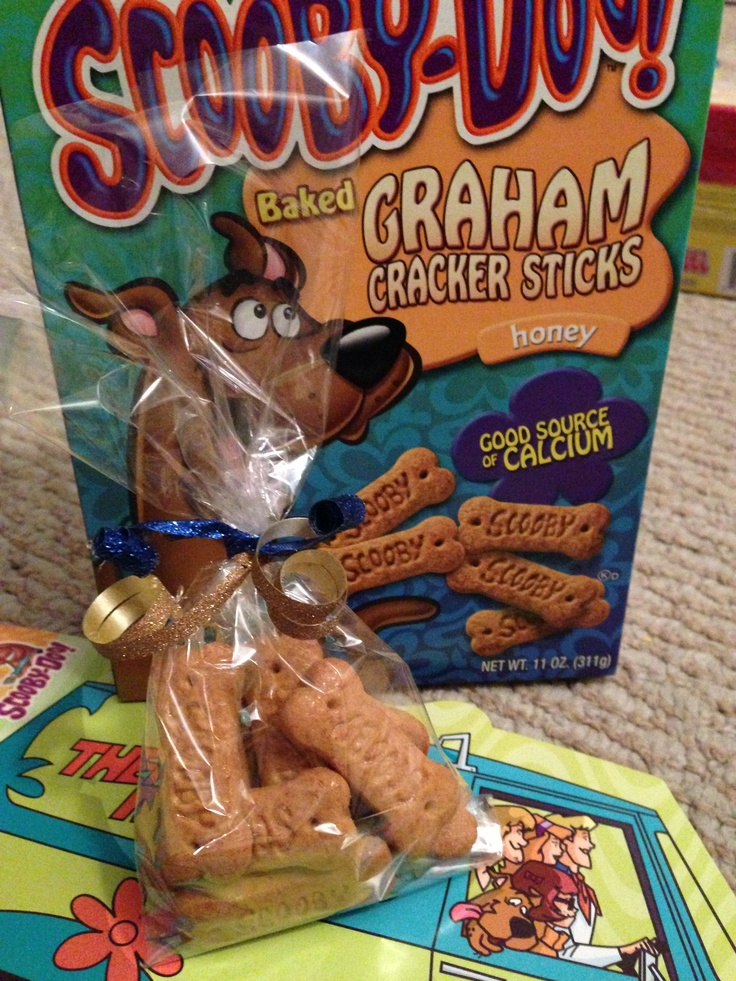Scooby snacks for party favors