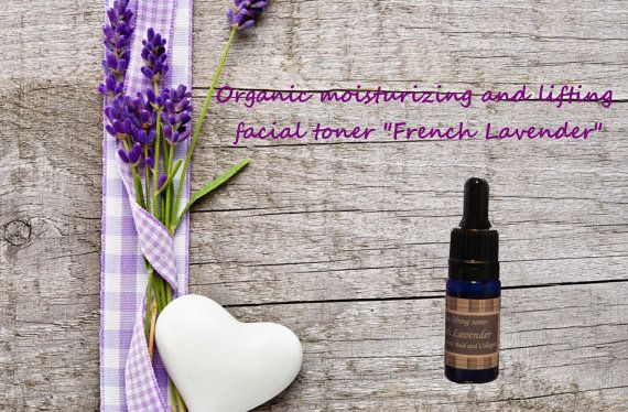 Organic moisturizing and lifting facial toner French by Ecoza