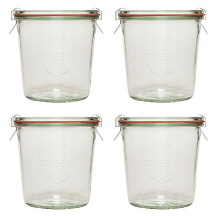 Love these Weck jars - classic design and great for storage of nuts and dried fruit (at least that's what I use them for)