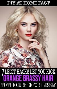 Desperate for a brassy hair fix at home? Noticed a depressing difference in the …