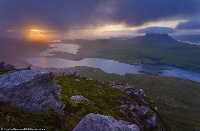 Не хуже Швейцарских Альп: работы фотографа влюблённого в Шотландское высокогорье…