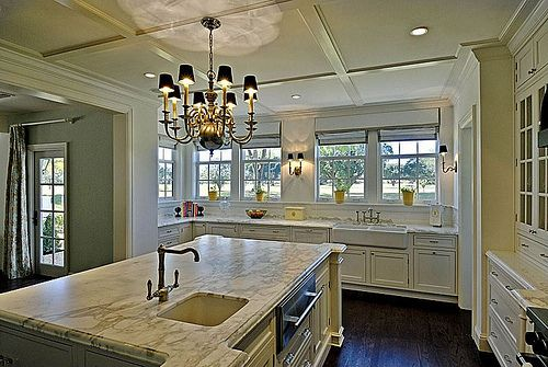 Kitchen bumb out w windows over sink  My Style  Pinterest