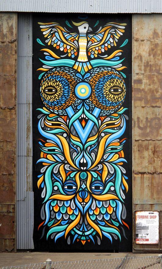 street art by Beastman. 000