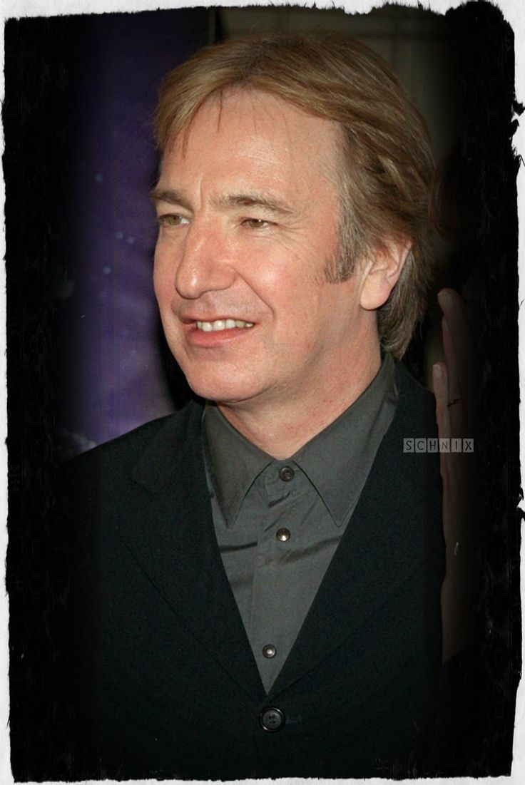 190 best Sweet Alan Rickman images on Pinterest | Alan rickman ...