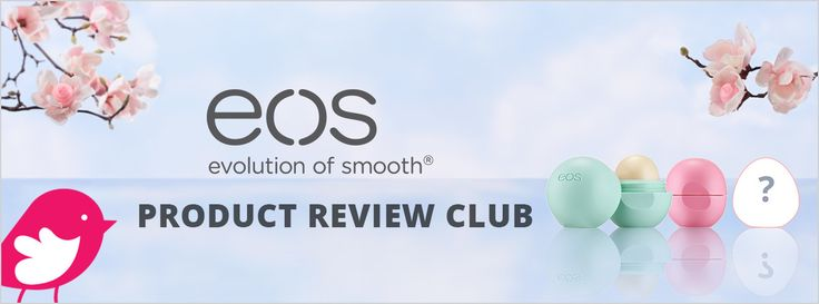 New Product Review Club Offer: eos Lip Care  #tryeos