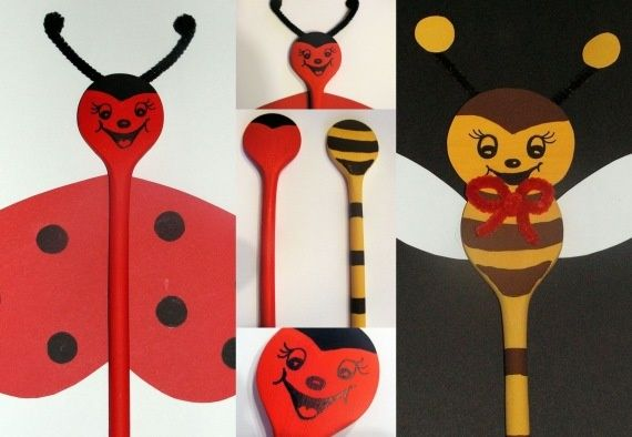 wooden spoon ladybug puppets 22 best images about a katica elveszett p 246 ttyei on 5782