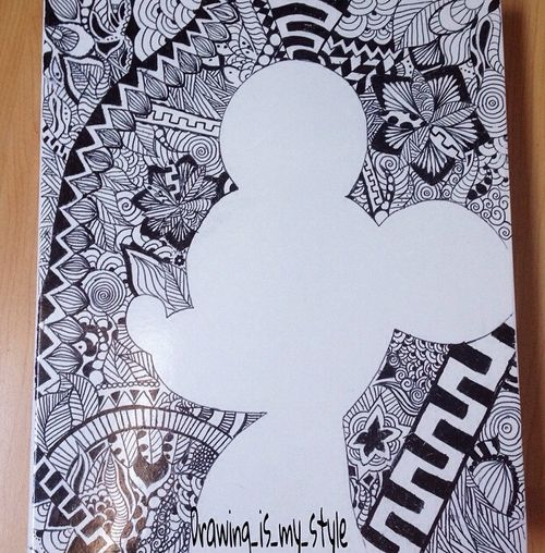 imagenes de zentangle art facil - Buscar con Google